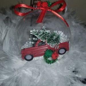 Jumbo handcrafted 3d Christmas ornament